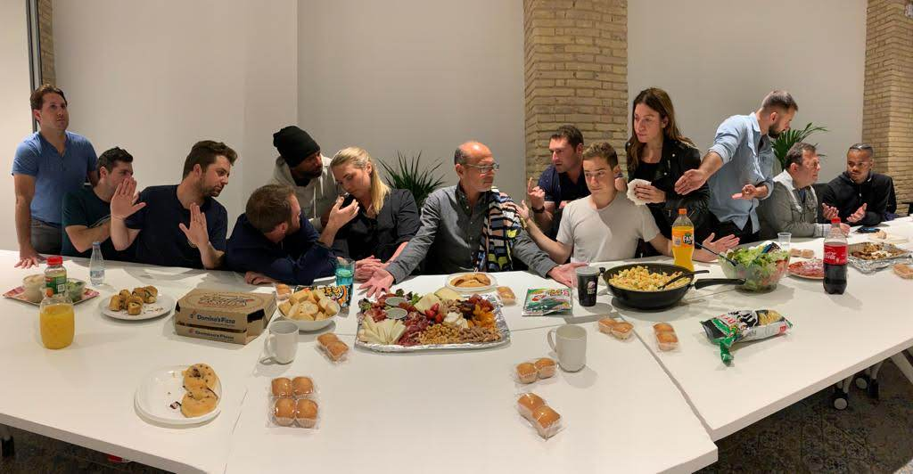 Our last supper as a Remote Year family.