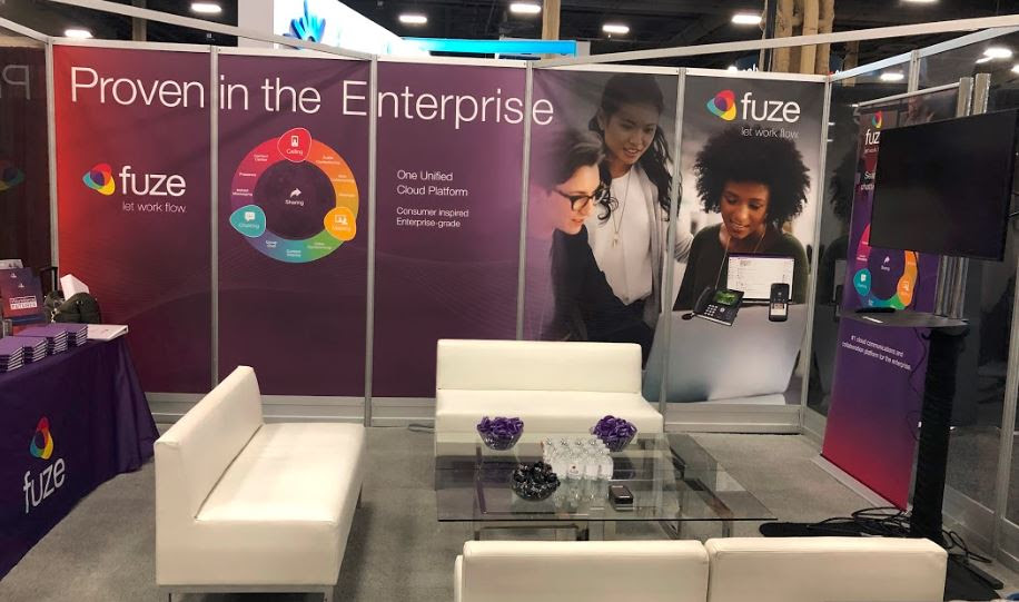 Fuze booth at Channel Partners Expo 2019