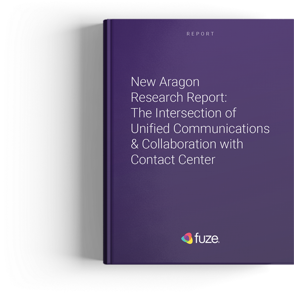 New Aragon Research Report: The Intersection of Unified Communications & Collaboration with Contact Center