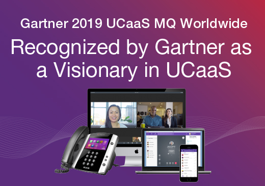 Gartner MQ UCaaS 2019