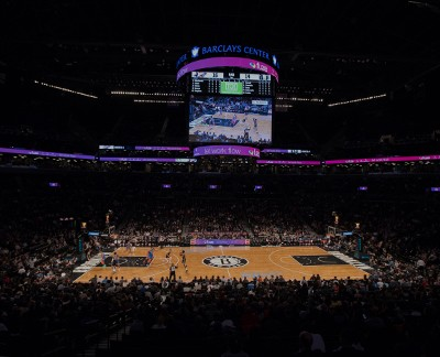 An NBA game picture