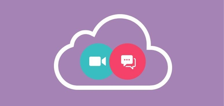 Video and Web conferencing that converge in the cloud