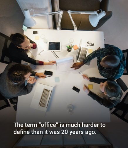 Embrace the new definition of office